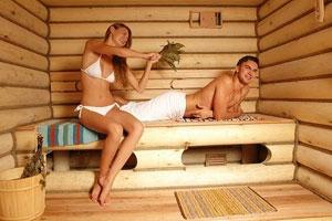 Семейная пара в бане фото 357-361